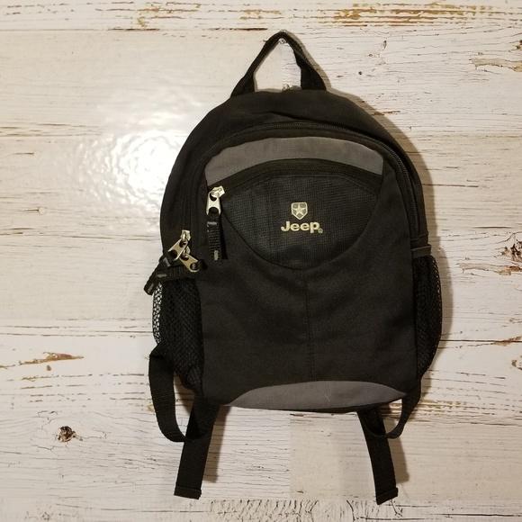 4d09b2805b4 JEEP Bags   Black Mini Backpack   Poshmark